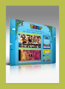 Playground Weekender home page